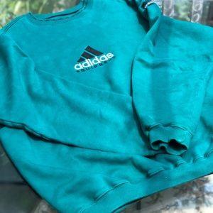 90s Vintage Adidas Equipment Sweatshirt  Lrg